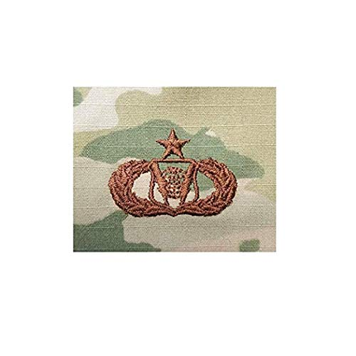 (US Air Force Command And Control Senior OCP Spice Brown Badge)