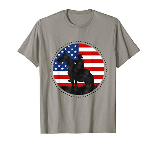 Yankee Doodle Patriotic popular American Song July 4th horse T-Shirt ()