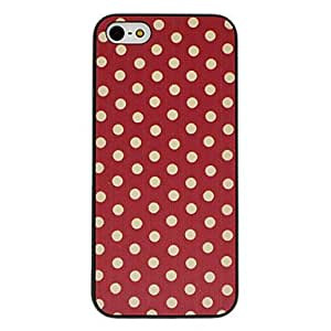 HP Red Dot Pattern Hard Case for iPhone 5/5S