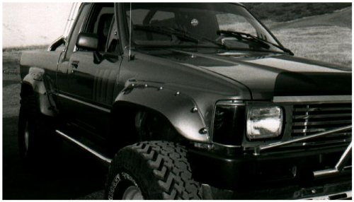 Bushwacker Toyota Cut-Out Fender Flare Front Pair (Toyota 4runner Fender Flares compare prices)