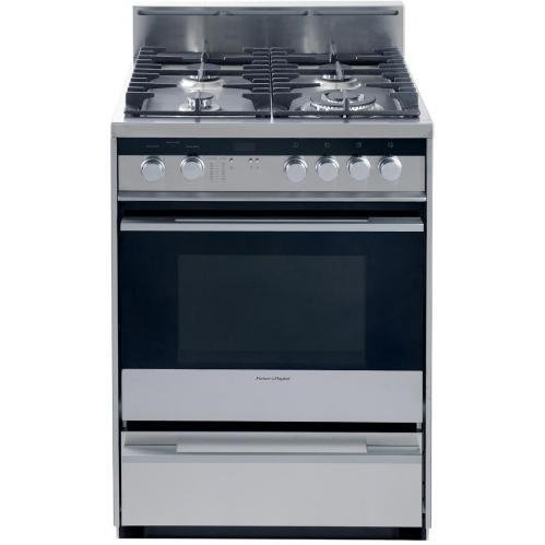 Fisher Paykel OR24SDMBGX1 24 Gas Range (Fisher And Paykel Gas Range compare prices)