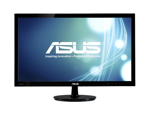 Asus Vs228h P 21 5  Full Hd 1920X1080 Hdmi Dvi Vga Back Lit Led Monitor