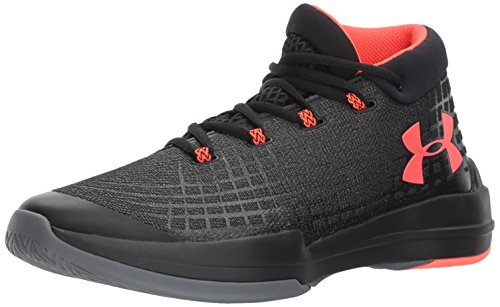 Under Armour Men's NXT, Black/Graphite/Marathon Red, 11 D(M) US (Under Armour Basketball Shoes 11)