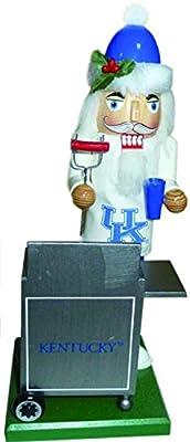 "12"" NCAA Kentucky Wildcats Sports Tailgating Wooden Christmas Nutcracker"