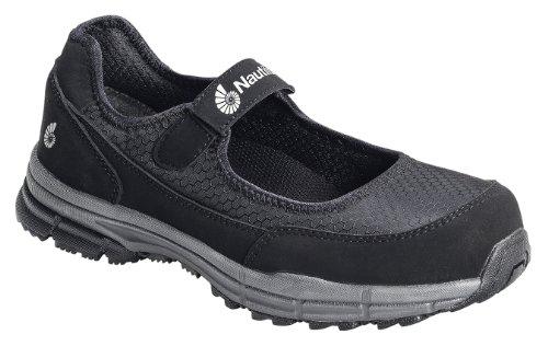 Nautilus Women's Steel Toe Sd Mary Jane Black 7W