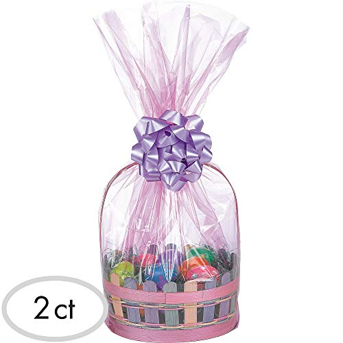 Egg-stra Special Easter Basket Plastic Wrap Bags | Party Favor