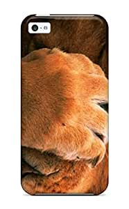 Snap-on Case Designed For ipod touch4- Lions Of Animals For Desktop