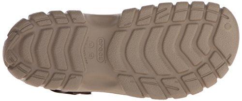 Crocs Offroad Sport Clog Kha/Wal, Zuecos Unisex Adulto Marrone (Khaki/Walnut)