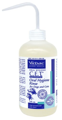 CET Oral Hygiene Rinse 8 Ounce, My Pet Supplies