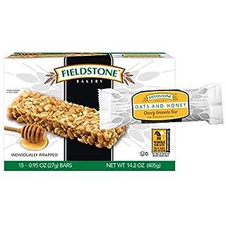 Fieldstone Bakery Oats & Honey Chewy Granola Bars, 4 Boxes, 60 Individually Wrapped Bars