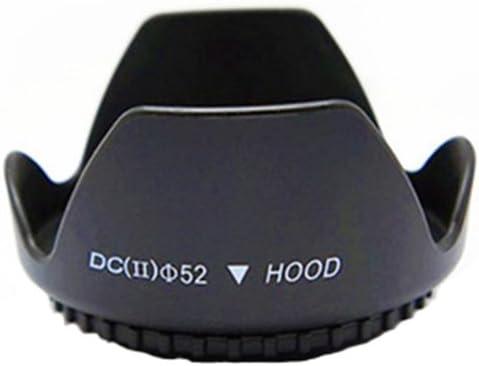 LEDMOMO Camera Lens Hood 52mm Universal Professional DSLR Camera Lens Hood for Canon//Nikon//Sony//Pentax//Olympus//Sigma//Tamron