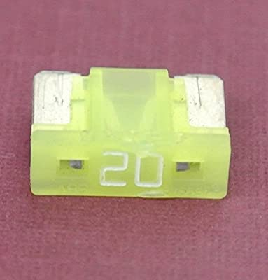 by PartsTwins 20 Amp Low Profile Mini Blade Fuse Replace Toyota Lexus # 90080-82053 Pack of 5