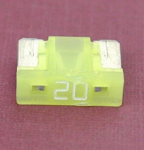 Pack of 5 by PartsTwins 20 Amp Low Profile Mini Blade Fuse Replace Toyota Lexus # 90080-82053