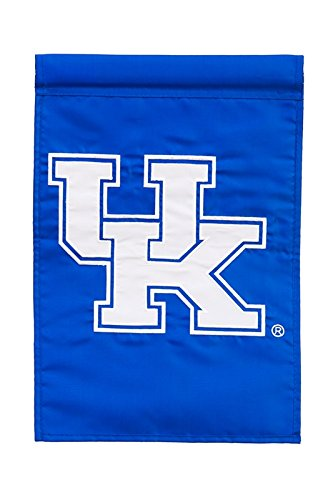(Ashley Gifts Customizable Embroidered Applique Garden Flag, Double Sided, University of Kentucky)