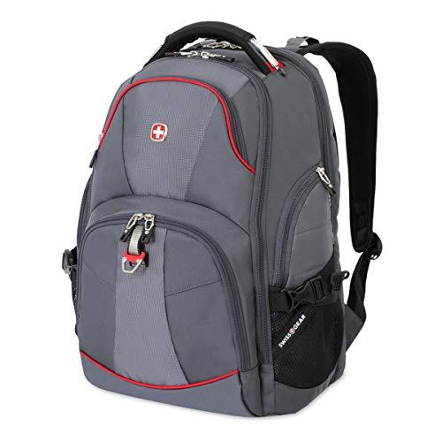SwissGear 5863 ScanSmart Laptop Backpack. Abrasion-Resistant & Travel-Friendly Laptop Backpack (18.5