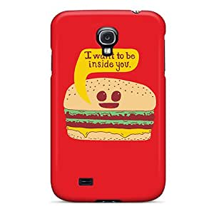 New Arrival Galaxy S4 Case Kawaii Hamburger Case Cover