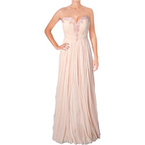 Evening Dresses By Jovani (Jovani Rhinestone Strapless Formal Dress Pink 12)