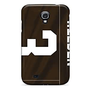 Defender Case With Nice Appearance (cleveland Browns) For Galaxy S4