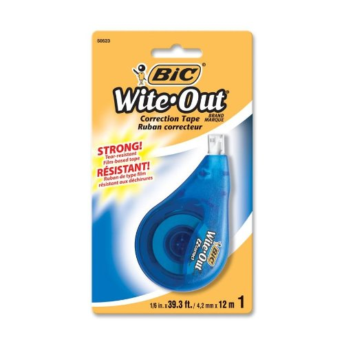 BICWOTAPP11 Wite Out Correct Correction Tape