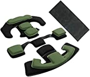 Tactical Airsoft Helmet Pads Internal Memory Foam Foam Protective Cushion Buffer Pad Protection Mat Accessorie