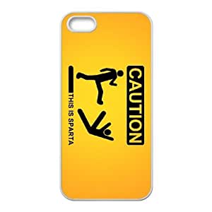 this is sparta iPhone 4 4s Cell Phone Case White 53Go-216650