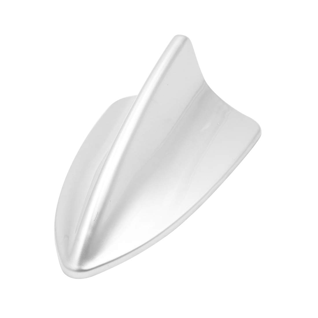 sourcing map Silver Tone Shark Fin Shape Adhesive SUV Car Decorative Antenna Aerial for BMW