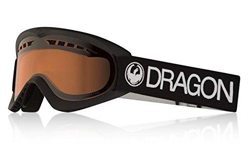 - Dragon Alliance DX Ski Goggles, Black, Black/Luma Amber Lens