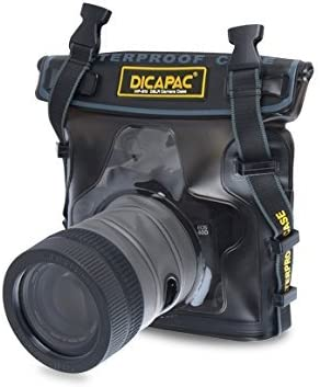 DiCAPac digital SLR camera-only waterproof and dust-proof case WP-S10