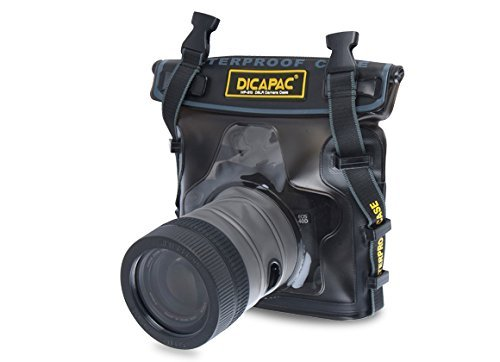 (DiCAPac WP-S10 Pro DSLR Camera Series Waterproof Case)
