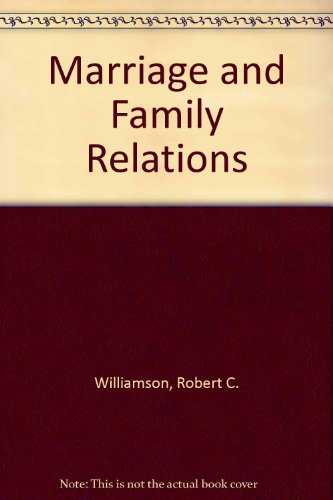 Marriage and Family Relations