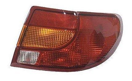 (00 01 02 Saturn S Series 4 Door Sedan Only Passenger Taillight Taillamp)