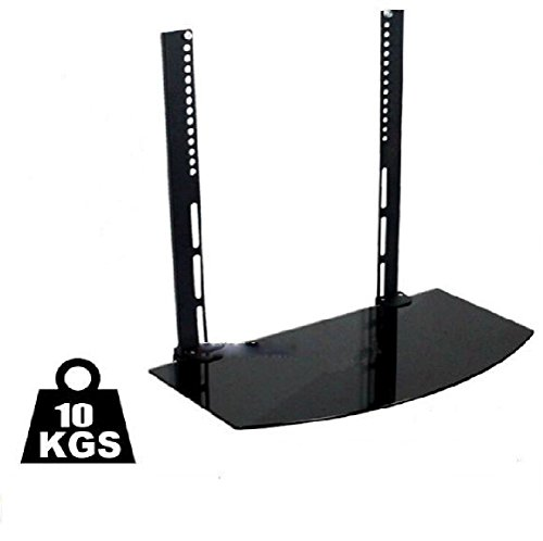 defonia-component-blu-ray-dvd-vesa-bracket-single-shelf-lcd-plasma-hdtv-wall-mount-new