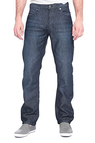 [paperdenim&cloth Mens Designer Slim Straight Leg Denim Jeans Cotton Spandex Relaxed fit - 32/32] (Billy Corduroy)