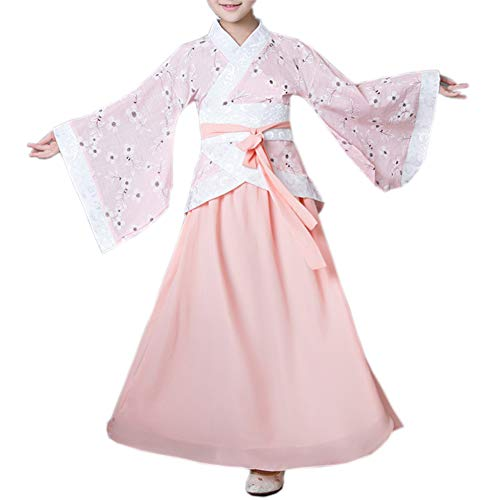 Girls Hanfu Child Ancient Chinese Traditional Cosplay Costumes Dress