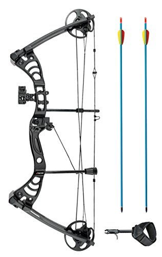 "XGear Right Hand Compound Bow 30-55lbs 19""-29"" Archery Hunti"