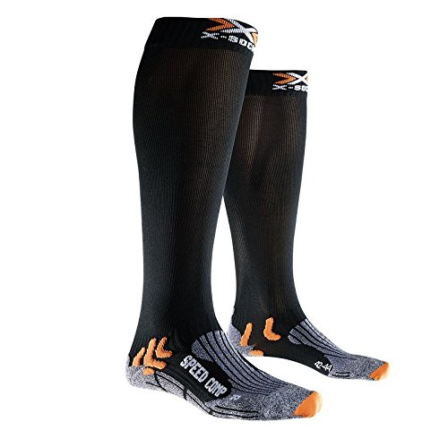 X-Socks Speed Comp Socken Schwarz, Herren, Speed Comp, schwarz, 45/47