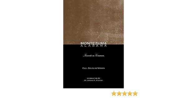 Montezuma, Alabama: Tenants In Commmon