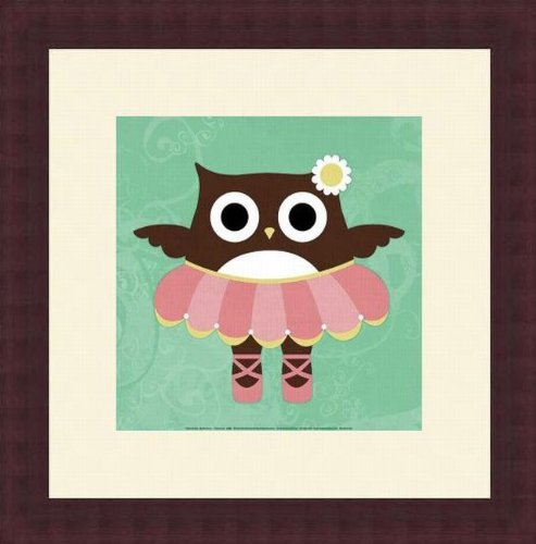 Printfinders Wall Decor by Nancy Lee, Ballerina Owl by Barewalls