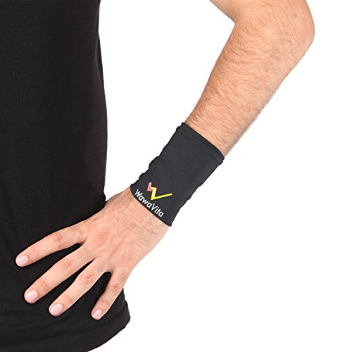 Price comparison product image Wawavita Copper Wrist Sleeve L-helps Relieve Joint Pain! Helps Support the Wrists! Helps Move Comfortably!