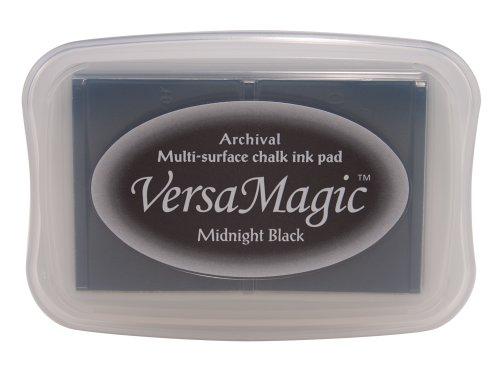 (Tsukineko Full-Size VersaMagic Chalk-Finish, Midnight Black)