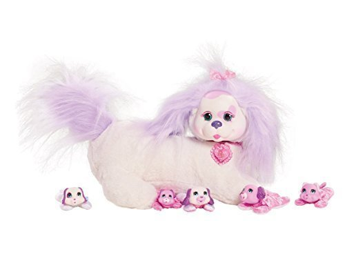 Puppy Surprise Sugar and Her Puppies Plush Toy Set