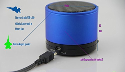Gadgetbucket-Mini-Bluetooth-Wireless-Speaker-S10-Multicolor-for-for-iPhone-6-6S-6Plus-5s-5c-5-iPad-Air-Air2-mini-mini2-mini3-iPad-4th-gen-iPod-touch-5th-gen-and-iPod-nano-7th-gen-For-All-Samsung-Devic