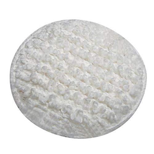 Carpet Bonnets for Dirt Wacker Floor Machine, 6 Inch -(6/Pack) (3 Pack)