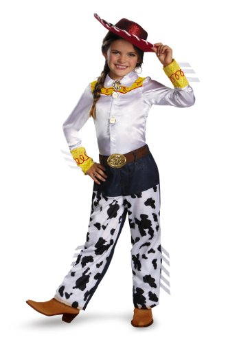 Disguise Disney Pixar Toy Story and Beyond Jessie Prestige Girls Costume, (Jessie Toy Story Costume Kids)