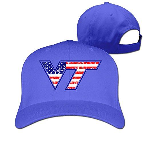 LFISH3 Virginia Tech University VT Logo Fashion Sunshade Hat (Sunshade Virginia University)