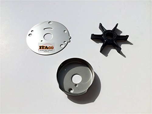 Outer Plate Insert Cartridge Water Pump Impeller 689-44352 689-44323 689-W4432 fit Yamaha Outboard 20HP 25HP- 30HP 2/4T Boat