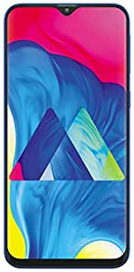 Samsung Galaxy M10 Dual SIM - 16GB, 2GB RAM, 4G LTE, Ocean Blue, UAE Version