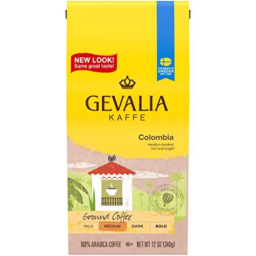 Gevalia Ground Coffee - Gevalia Colombian Roast Ground Coffee (12 oz Boxes, Pack of 6)