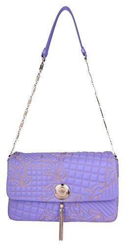 Purple Handles Bag Purple Versace Women For d5X6q5wY