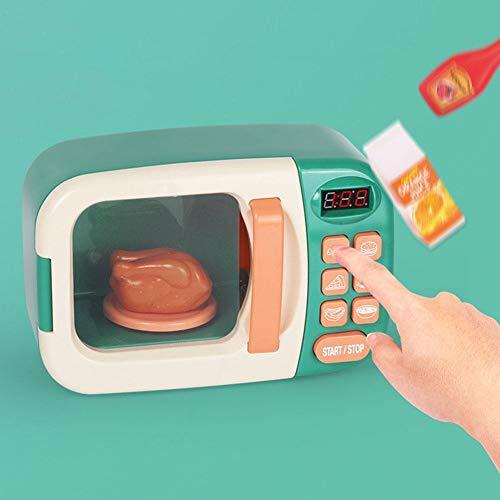 Persiverney Kitchen Cooking Toy Set Horno de microondas Horno de ...